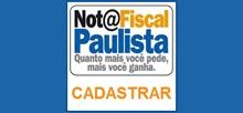 Nota fiscal paulista - Cadastrar